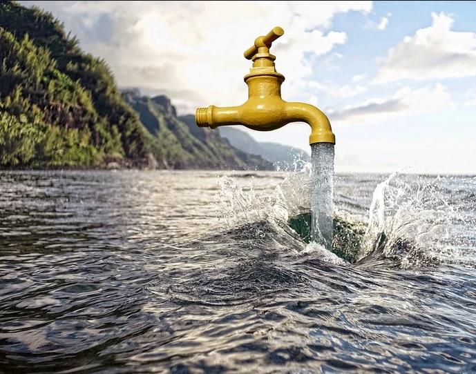 Cela coule de source, l'eau n'est pas le lot de tous et ne tombe pas que de là haut !!
