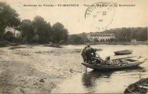 Vu du Restaurant et du Château